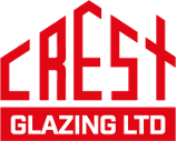Crest Glazing Ltd Domestic and Commercial Glazing Aberdeen Aberdeenshire Red Logo